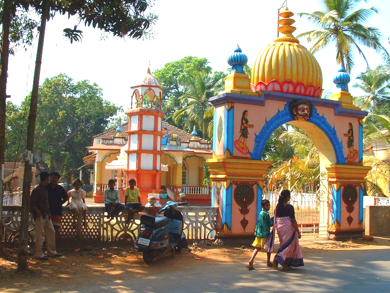 India Goa Hindu Temple at Siolim